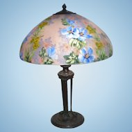Handel 7121M hollyhock lamp