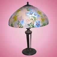 Handel 7121M hollyhock lamp