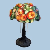 Pairpoint Apple Tree Lamp