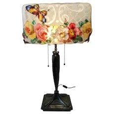 Pairpoint puffy Albemarl lamp