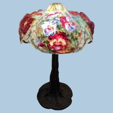 Pairpoint puffy Oxford lamp