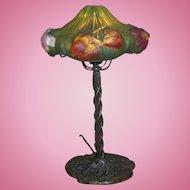 Pairpoint puffy tulip lamp