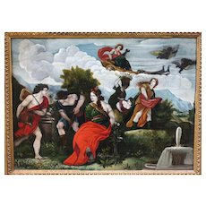 Italian School Late 18th/Early 19th Century Mythological Scene Oil on Canvas