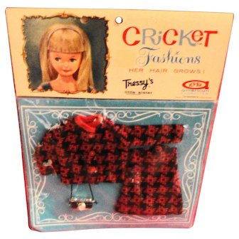American Character Tressy's Sister Cricket MOC #14108 Shutterbug Outfit