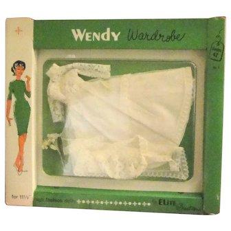 Elite Creations Mint in Box Uneeda Wendy Wedding Gown