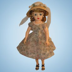 """Ideal Dolls 18"""" Miss Revlon with Cherries a la Mode Outfit"""