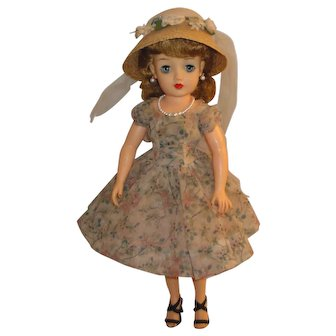 "Ideal Dolls 18"" Miss Revlon with Cherries a la Mode Outfit"