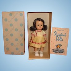 Nancy Ann Storybook Doll Muffie in Original #507 Outfit and Box