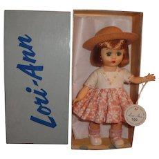 Nancy Ann Storybook Muffie Lori-Ann in Original Outfit, Wrist Tag, and Box