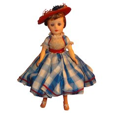 Nancy Ann Storybook Dolls Miss Nancy Ann in Complete and Original Tagged Outfit