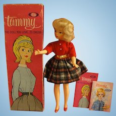 Ideal Tammy Doll School Daze Outfit and Original Box