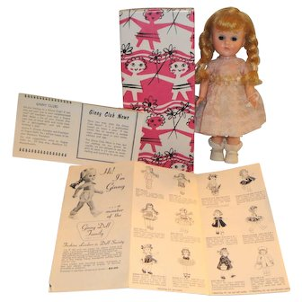 Vogue Bent Knee Walker Ginny Doll with Wrist Tag and Tagged #82 Bon-Bons Outfit