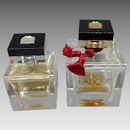 Two Lalique Perfumes