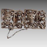 vintage Peruzzi sterling bracelet