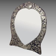 Turn of the Century Sterling Frame with Mirror
