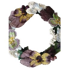 Fabulous French Bead Work Wreath