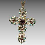 Austro Hungarian Cross with Stones