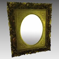 Hand Carved Italian Mirror