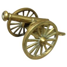 Toy Brass Cannon