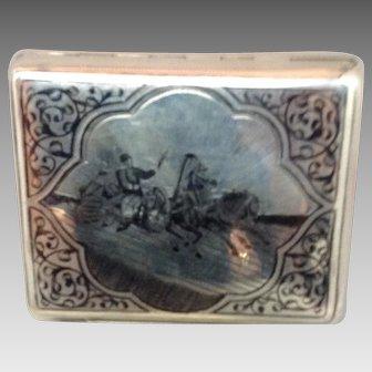 Russian Silver Case/Niello