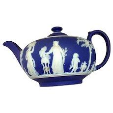 Wedgewood Cobalt and White Tea Set
