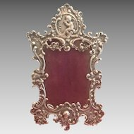19th Century Silver French Frame