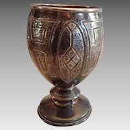 Unweighted Silver Goblet