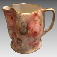 Royal Bayreuth Rose Tapestry Pitcher