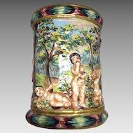 Lovely Capodimonte Vase