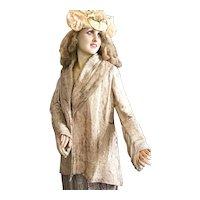 1920's French Flapper Opera Cape Theater Coat Costume Charleston