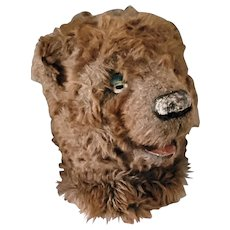 1930/40's French Theater Bear Mask Costume Home Decoration