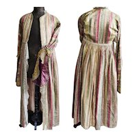 1920's Antique French Costume Theater Opera Coat Flapper