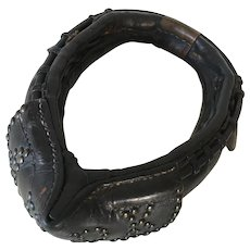 A 1900's Leather Dog-Cart Harness Child Victorian Collar
