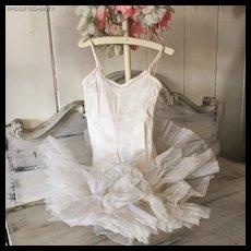 Beautiful Vintage Ballet Costume Tuttu Dance Child Doll