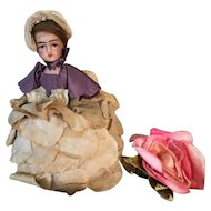 Antique French Bisque Doll Candy Container