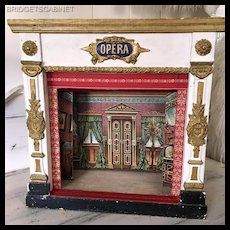 Antique 1880 French Toy Opera Theater Doll Marionet Puppet