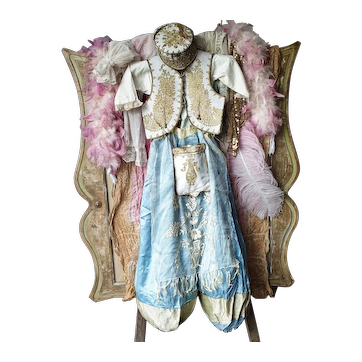 1920'S French Stage Theater Oriental Costume Child Size
