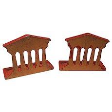 Antique Architectural Column Bookends