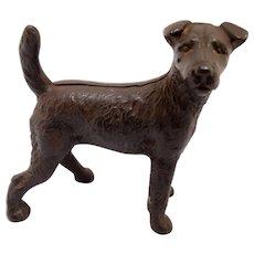 Vintage Cast Iron Terrier Door Stop