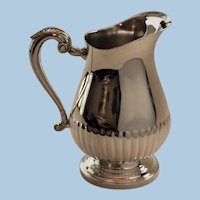 Vintage Christofle France Silver Plated Water Picher