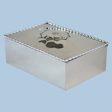 Georg Jensen Sterling Silver Keepsake Box, No.39