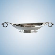 """Georg Jensen Sterling Silver """"Ring"""" Bowl, No.577 by Gustav Pedersen"""