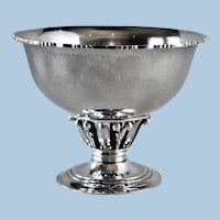 Georg Jensen Sterling Silver Small Louvre Bowl, No,180B