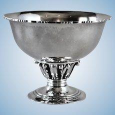 Georg Jensen Sterling Silver Small Louvre Bowl, No,180B