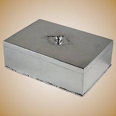 Georg Jensen Sterling Silver Keepsake Box, No.329