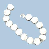 Georg Jensen Sterling Silver Modern Bracelet No. 124 by Nanna Ditzel