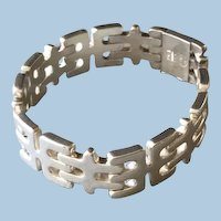 Georg Jensen Sterling Silver Bracelet  No. 103 by Edvard Kindt-Larsen.