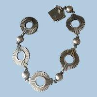 Georg Jensen Sterling Silver Bracelet No. 101 by Jorgen Jensen