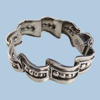 Margot de Taxco Silver Link Bracelet No. 5247