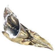 Peer Smed Sterling Silver Calla Lily Brooch